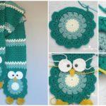 Owl Scarf For Children