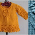 Knit Lacy Sweater