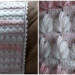 Spiked Cluster Stitch Blanket