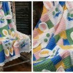 Crochet Bunny Baby Blanket