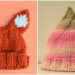Knit Pixie & Foxy Hat