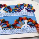 Crochet Peacock Edging