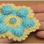 Crochet Six Petal Flower VIDEO Tutorial