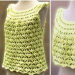 Crochet Pretty Blouse for Summer