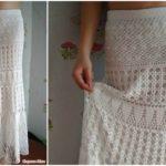 Crochet Summer Maxi Skirt