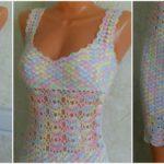 Crochet Colorful Dress