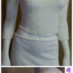 Crochet Dot Blouse
