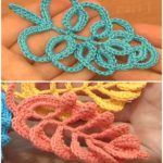 4 Beautiful Leaves to Crochet