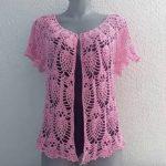 Crochet Open Pineapple Top