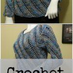 Crochet Sweater Blouse
