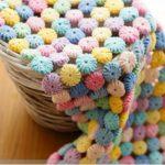 Crochet Blanket From Round Motifs