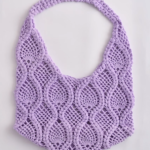 Crochet Round Bag of Pineapples