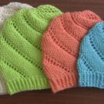 Crochet Swirled Hat