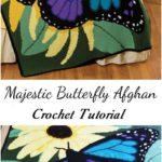 Crochet Majestic Butterfly Afghan