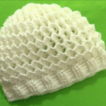 Crochet Honeycomb Hat