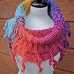 Crochet Curly Cute Cowl
