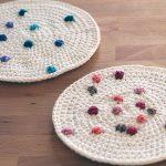 Crochet Sprinkle Potholders