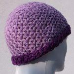 Crochet Triangle Star Stitch Hat