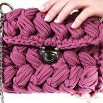 Crochet Marshmallow Bag