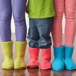 Crochet Slippers Boots