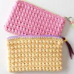 Crochet Little Cute zipper Bag
