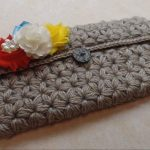Crochet Star Stitch Purse