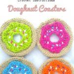 Crochet Doughnut Coasters