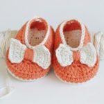 Crochet Baby Pumpkin Booties