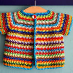 Crochet Colorful Baby Vest