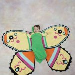 Crochet Butterfly Cocoon Blanket