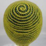 Crochet Spiral Beanie