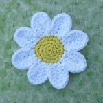 Crochet Daisy Coasters