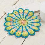 Crochet Mandala Potholder