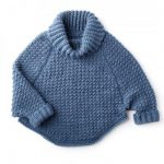 Woman's Curvy Crochet Cowl Pullover