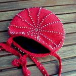Crochet Beaded Circular Purse