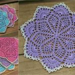 Crochet Spring Song Doily