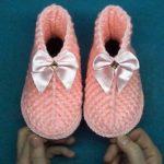 Crochet Leaf Shoes