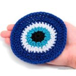 crochet Eye Coasters