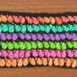Honey Drops Crochet Stitch