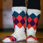 Crochet Tutti Frutti Slippers