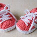 Crochet Adidas Booties