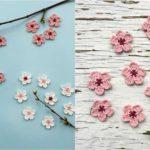 Crochet Cherry Blossom