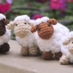 Crochet Puff Sheep