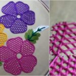 Hand Embroidery Flower Tutorial