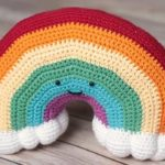 Crochet Plushy Rainbow
