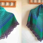 The Peafowl Feathers Shawl