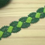 Crochet Lace Braid Ribbon Tape