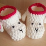 Crochet Lamb Shoes