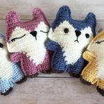Crochet Cute Pocket Foxes