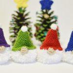Crochet Puffball Gnomes